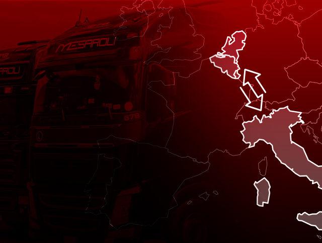 Italia-Benelux import export: sicuri e veloci ad ogni temperatura